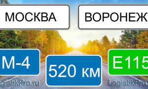 Сколько км от Москвы до Воронежа? (на машине, поезде, самолете)