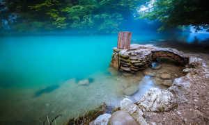 Голубое озеро, Абхазия (8 фото, отзывы, адрес)