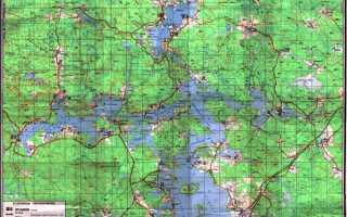 Где находится озеро Селигер (на карте, координаты)