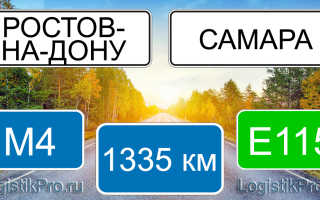 Сколько км от Ростова-на-Дону до Самары? (на машине, поезде, самолете)