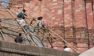 Кутб-Минар в Дели, Как добраться эспозиция, описание