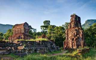 Храмовый комплекс Мишон во Вьетнаме, описание и фото
