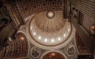 Описание собора Святого Петра, история и архитектура