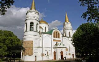 Спасо-Преображенский собор в Чернигове (15 фото, описание, история)