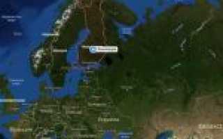 Финляндия на карте мира (карта Финляндии на русском языке)