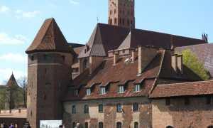 Знаменитые замки Польши: Мальборк