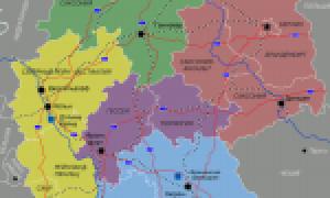 Германия на карте мира (карта Германии на русском языке)