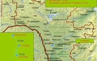 Где находится космодром «Восточный» (на карте, координаты)