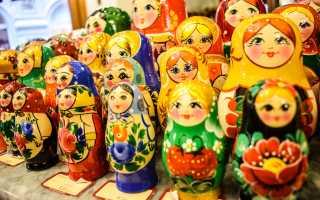 Что привезти из Москвы? Подарки и сувениры из Москвы
