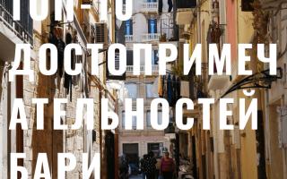 Достопримечательности Бари (Италия): 29 мест с фото и описаниями