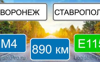 Сколько км от Воронежа до Ставрополя: на машине, поезде, самолете