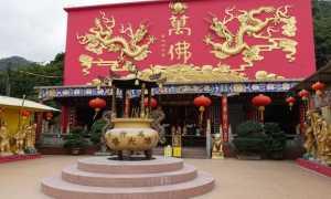 Монастырь 10000 Будд Гонконг, описание и фото