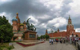 Красная площадь, Москва (как добраться на метро, аэроэкспрессе и др.)
