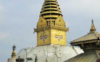 Ступа в Санчи, великий и огромный храм Будды