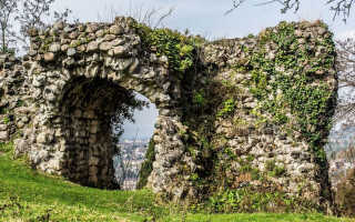 Замок Баграта, Абхазия, Сухуми (5 фото, как добраться)