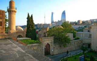 Дворец Ширваншахов в Баку (15 фото, информация, описание)
