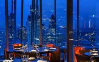 Лучшие рестораны Лондона (18 заведений)
