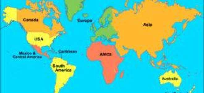 Страны Азии, список