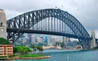 Харбор-Бридж, Австралия, Сидней (8 фото, интересные факты)