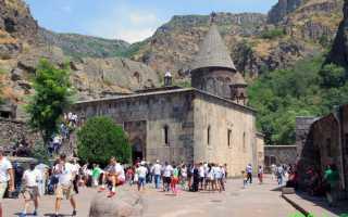 Монастырь Гегард, Гарни, Армения (12 фото, описание)