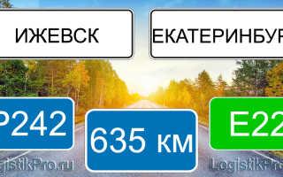 Сколько км от Екатеринбурга до Ижевска? (на машине, поезде, самолете)
