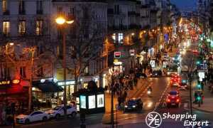 Дешевые магазины Парижа