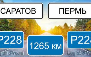 Сколько км от Саратова до Перми: на машине, поезде, самолете