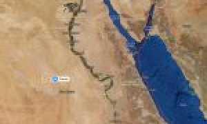 Египет на карте мира (карта Египта на русском языке)