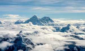 Географические координаты горы Эверест (Джомолунгмы) – широта и долгота