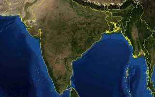 Где находится Бенгальский залив (на карте, координаты)