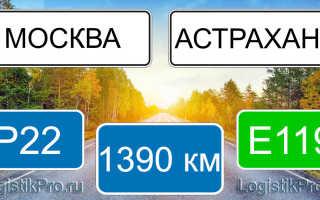 Сколько км от Москвы до Астрахани? (на машине, поезде, самолете)