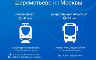 Аэропорт Шереметьево, Москва (как добраться общественным транспортом, на метро, аэроэкспрессе, электричке, маршрутном такси)