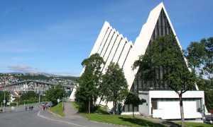 Арктический собор в Тромсё, Норвегия
