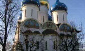 Успенский собор в Троице Сергиевой лавре