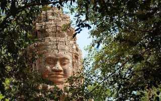 Храм Байон в Ангкоре, Камбоджа