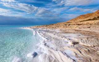 Где находится Мертвое море (на карте, координаты)