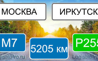 Сколько км от Москвы до Иркутска? (на машине, поезде, самолете)