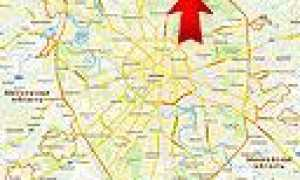 Ярославское шоссе на карте Москвы