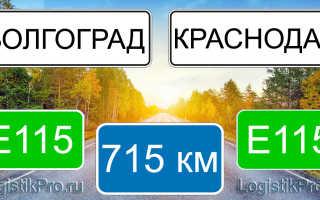 Сколько км от Краснодара до Волгограда? (на машине, поезде, самолете)