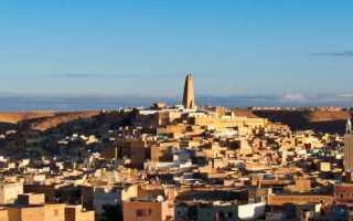 Долина Мзаб в Алжире (7 фото, описание, информация)