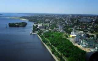 Сколько км от Нижнего Новгорода до Воронежа? (на машине, на самолете)