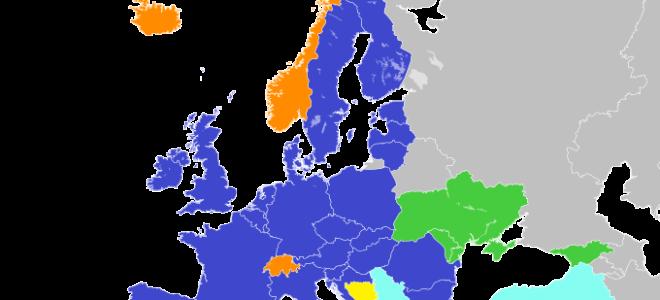 Страны Евросоюза, список по алфавиту стран ЕС