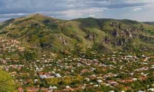 Татевский монастырь в Армении и канатная дорога