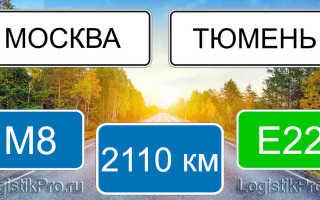 Сколько км от Москвы до Тюмени? (на машине, поезде, самолете)