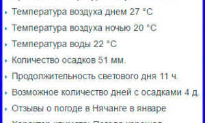 Отдых в Нячанге в январе 2020 (погода, цены, отзывы туристов)