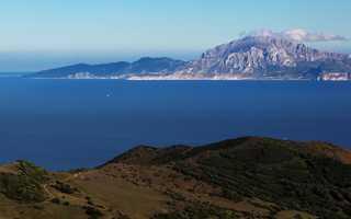 Где находится Гибралтарский пролив (на карте, координаты)