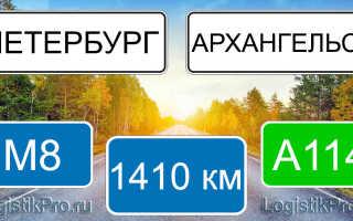 Сколько км от Санкт-Петербурга до Архангельска: на машине, поезде, самолете