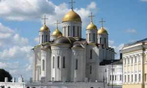 Успенский собор во Владимире описание, фото и описание