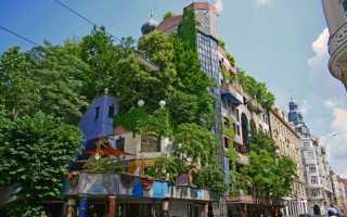 Дом Хундертвассера в Вене (16 фото, описание, информация)