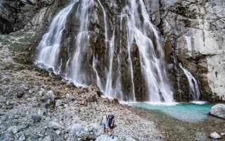 Гегский водопад в Абхазии (12 фото, карта, отзывы)